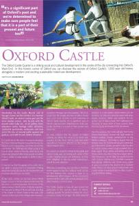 B4 Oxfordshire Magazine June 2015 Oxford Castle Quarter