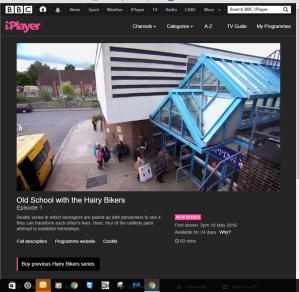 BBC1 Hairy