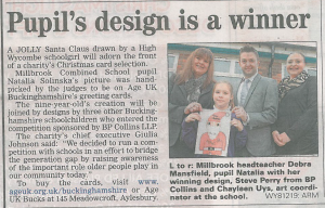 Bucks Free Press 6 December 2013 Age UK Buckinghamshire