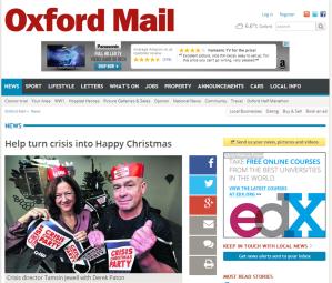Oxford Mail 19 November 2014