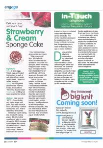 Engage Magazine July 2014 Thames Valley Farmers' Market