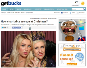 Get Bucks December 2013 Age UK Buckinghamshire