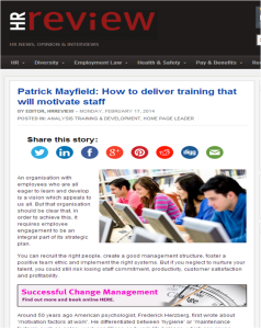 HR Review February 2014 pearcemayfield