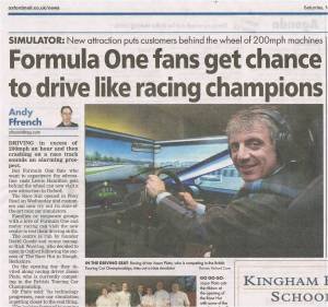 Oxford Mail 7 November 2015 The Race Hut