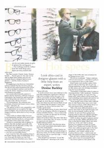 Oxfordshire Limited Edition August 2013 Robert Stanley Opticians
