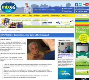 Mix 96 9 June 2015 Age UK Buckinghamshire