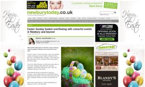 Newbury Today 20 April 2014 Thames Valley Farmers' Market