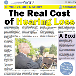 Nottinghamshire in Focus October 2014] The Ear Foundation