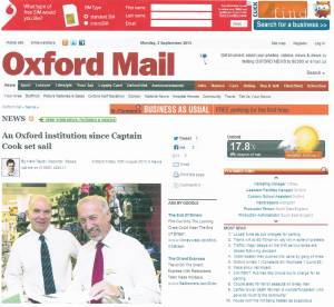 Oxford Mail 30 August 2013 Boswells Department Store