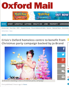 Oxford Mail 12 December Crisis