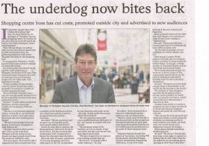 Oxford Times 4 June 2015 Templars Square Shopping Centre