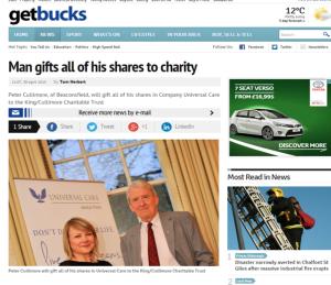 Get Bucks 30 April 2015 Universal Care